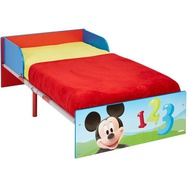 Disney Lettino Mickey Mouse 143x77x43 cm Rosso WORL119013