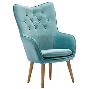 Divano Lazy Sofa Lazy Computer Chair Casual Home Seat Semplice e Moderno Anchor Live Broadcast Chair Cute Creative Dormitory Chair (Color : Blue)