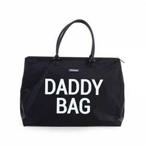 Childhome Borsa Porta Pannolini Daddy Bag Big Black - Childhome
