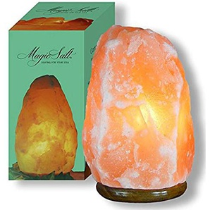 MAGIC SALT LIGHTING FOR YOUR SOUL Lampada di Sale dell Himalaya (4-6 kg.)