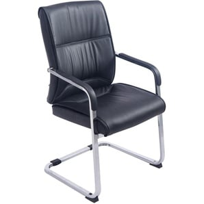Sedia XXL Anubis in similpelle Nero - PAAL OFFICE FURNITURE
