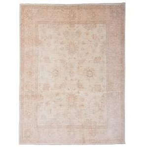 Nain Trading Tappeto Ziegler Farahan 203x152 Beige (Lana, Afghanistan, Annodato a mano)