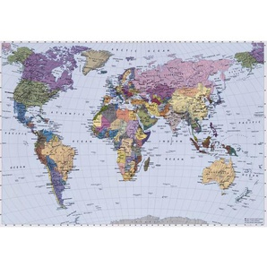Komar Fotomurale World Map 270x188 cm 4-050