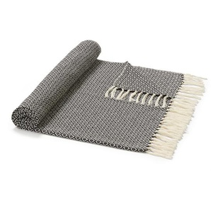 Plaid Champs grigio scuro beige