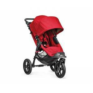 Baby Jogger Passeggino Trio City Elite - Baby Jogger - Single Red