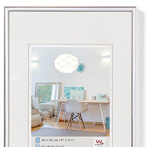 Walther New Lifestyle, Cornice in Plastica, Argento, 42 x 59.4 cm
