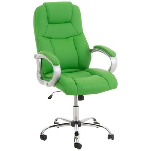 Poltrona Ufficio in Similpelle APOLL XL Verde - PAAL OFFICE FURNITURE