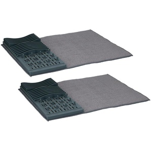 Dish Drainer With Drying Cloth Alpine Brand