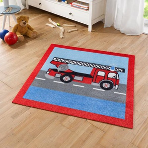 Tappeto per bambini Feuerwehr, Top Square
