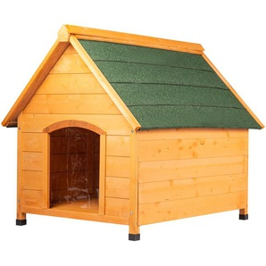 wooden doghouse various sizes 2 Brown Medium