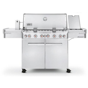 Barbecue Weber a Gas Summit S-670 Inox Cod. 7370029