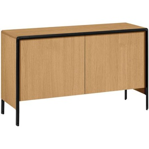 Kave Home - Credenza Nadyria 140 x 82 cm in rovere