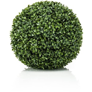 Emerald Sfera di Bosso Artificiale UV Verde 28 cm