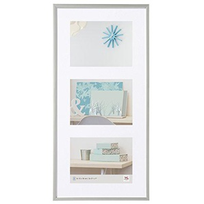 Walther New Lifestyle, Cornice in Plastica, Argento, 3 x 13 x 18 cm