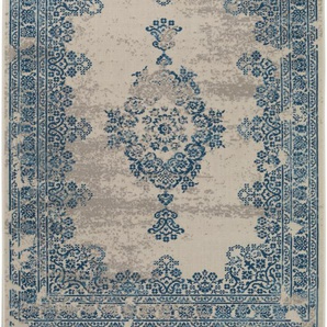 Tappeto Antique Beige/Blu 160x230 cm