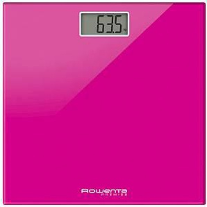 Rowenta Premiss Bs1063v0 Bilancia Pesapersone Con Display Lcd Colore Rosa