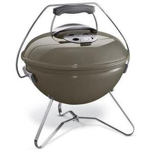 Weber Smokey Joe Premium Smoked BBQ Charcoal Grey 37cm