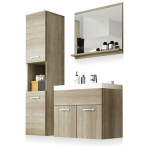 Set mobile bagno Selsey: Rovere