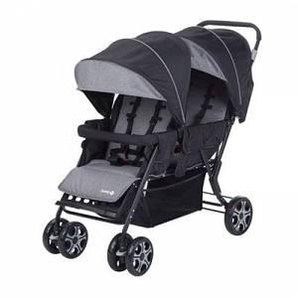 Safety 1st Passeggino Gemellare Fratellare Teamy - Safety 1st - Black Chic