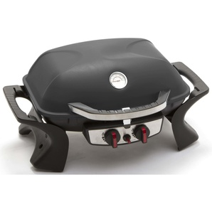 Barbecue A Gas Gpl Portatile 2 Fuochi Taddei Easy Nero...