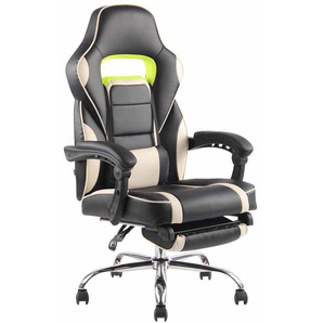 Poltrona gaming FUEL in similpelle Nero/crema - PAAL OFFICE FURNITURE