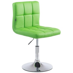 Sedia lounge Palma V2 in similpelle Verde - PAAL OFFICE FURNITURE