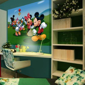 AG Design, Stampa Fotografica Decorativa da Parete, Motivo: Disney, Mickey Mouse, Multicolore