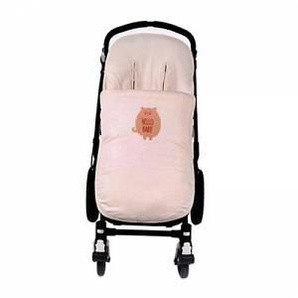 "Walking Mum Sacco Universale per Passeggino ""Hello Baby"" - Walking Mum - Rosa"