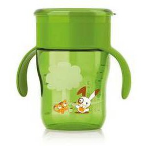 Philips Avent Tazza Natural Drinking 260 ml (verde)