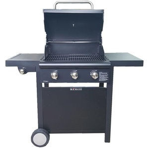 Barbecue A Gas Gpl A Pietra Lavica 3 Fuochi Manieri Arrosto Plus N...