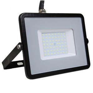 Faro LED V-TAC SMD Chip Samsung 50W 120Lm/W Colore Nero 4000K IP65